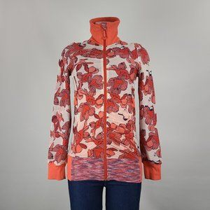 Lululemon Raja Reversible Orange Flower Size S